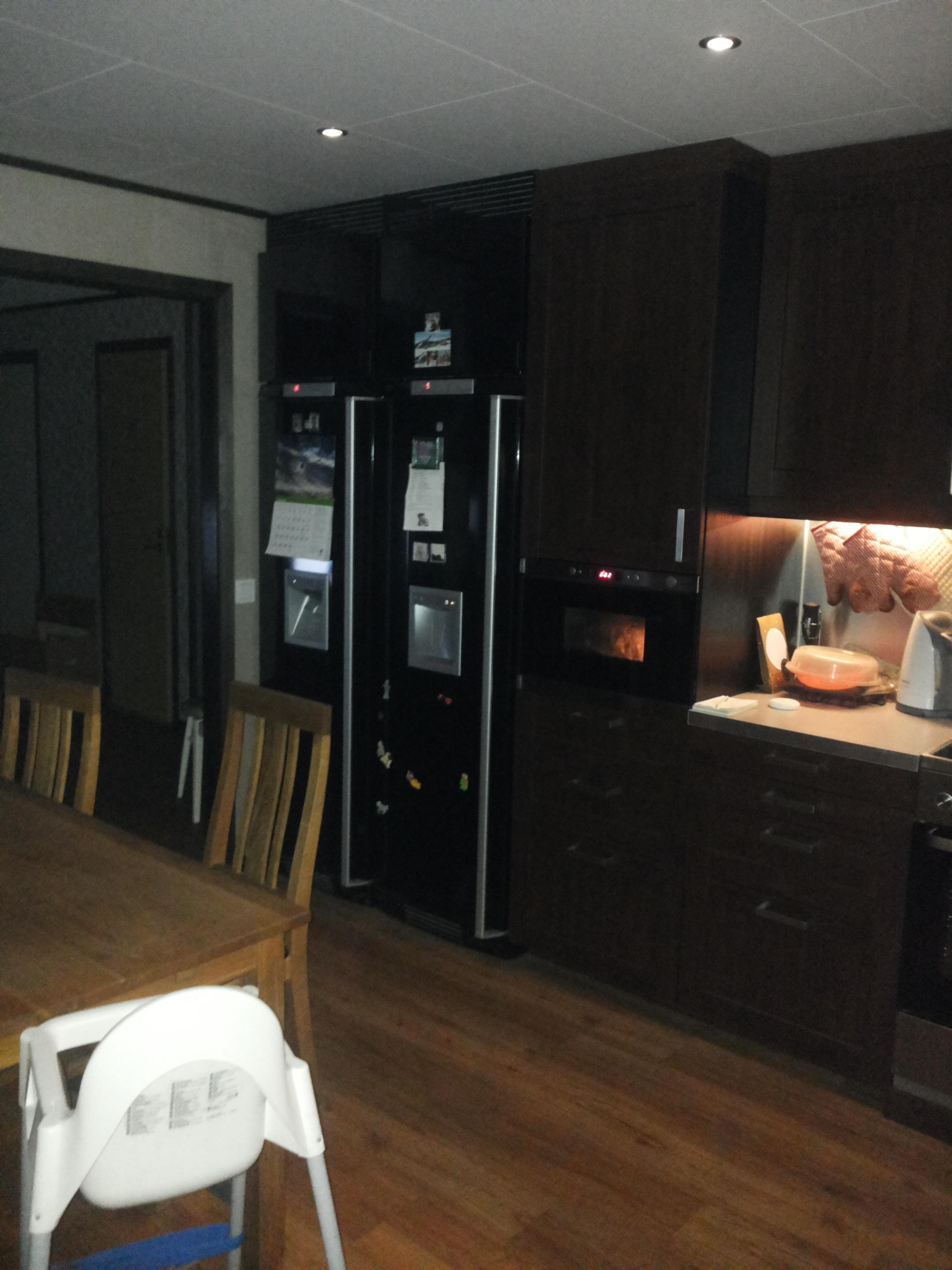 Kok Belysning Led : led belysning kok  Spegel Demerx Glow Rak utan LED Belysning Vit